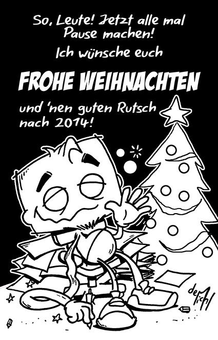 Frohe Weihnachten2013