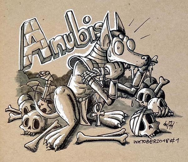 A wie Anubis