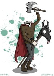 #19_Kopfloser Reiter
